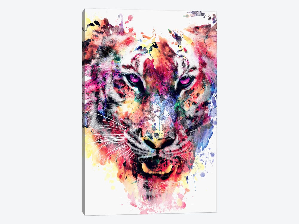 Eye Of The Tiger by Riza Peker 1-piece Canvas Art Print