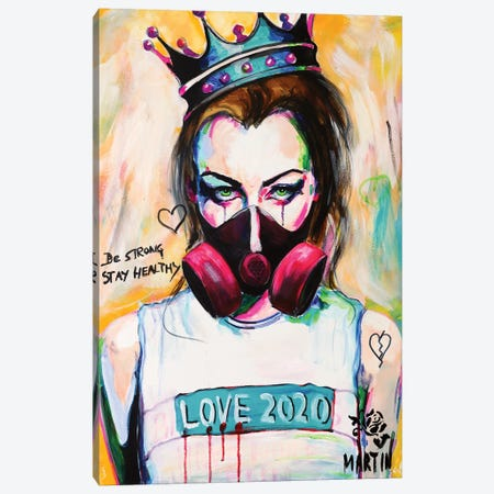 Love 2020 Canvas Print #PEM18} by Peter Martin Art Print