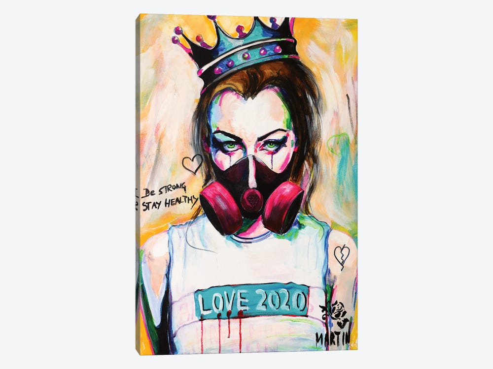 Love 2020 1-piece Canvas Art