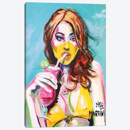 Summer Romance 2020 Canvas Print #PEM25} by Peter Martin Canvas Print