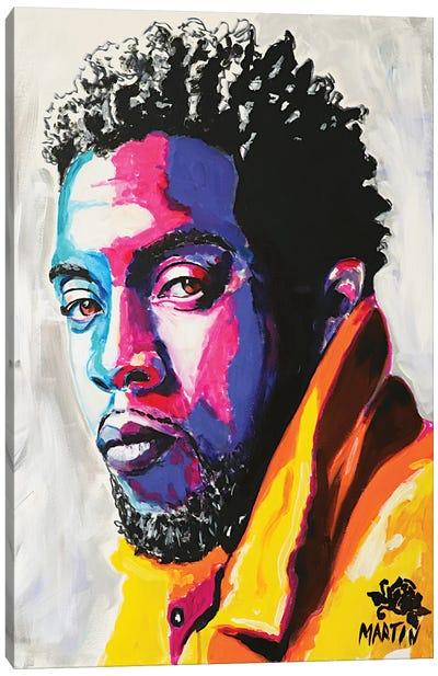 Chadwick Boseman Canvas Art Print
