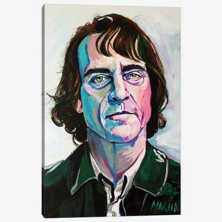 Joker Canvas Print #PEM35} by Peter Martin Canvas Wall Art