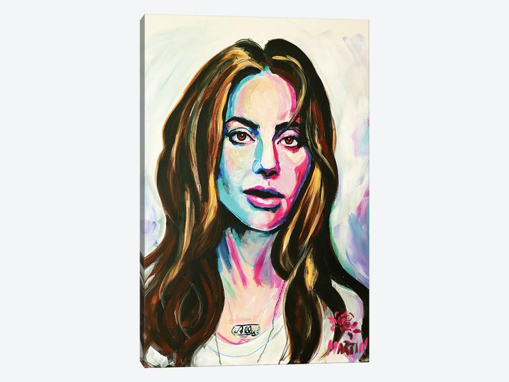 Lady Gaga by Peter Martin 1-piece Canvas Art
