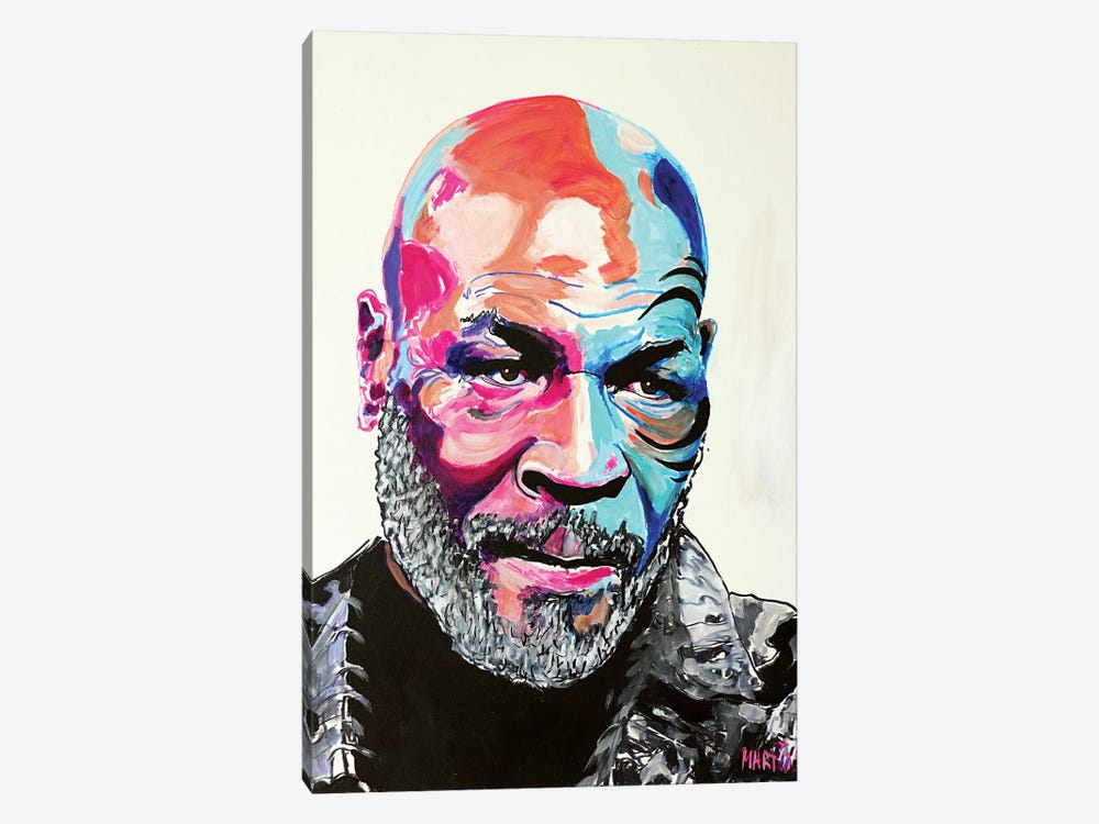 Mike Tyson by Peter Martin 1-piece Canvas Art Print