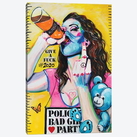 Party Life 2020 Canvas Print #PEM42} by Peter Martin Canvas Artwork