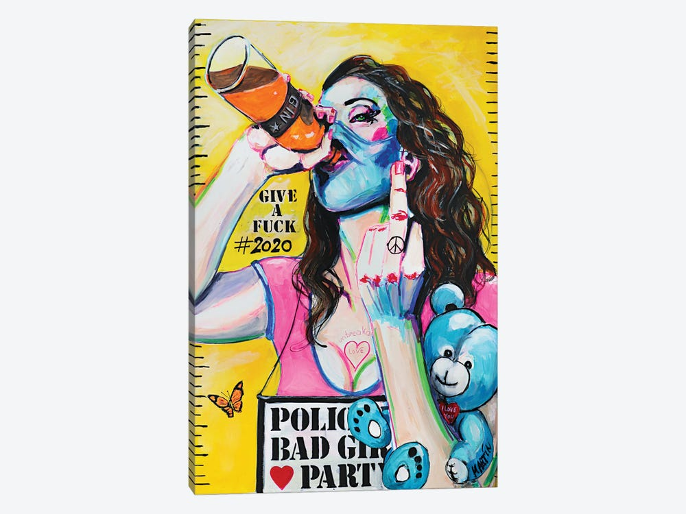 Party Life 2020 by Peter Martin 1-piece Canvas Print