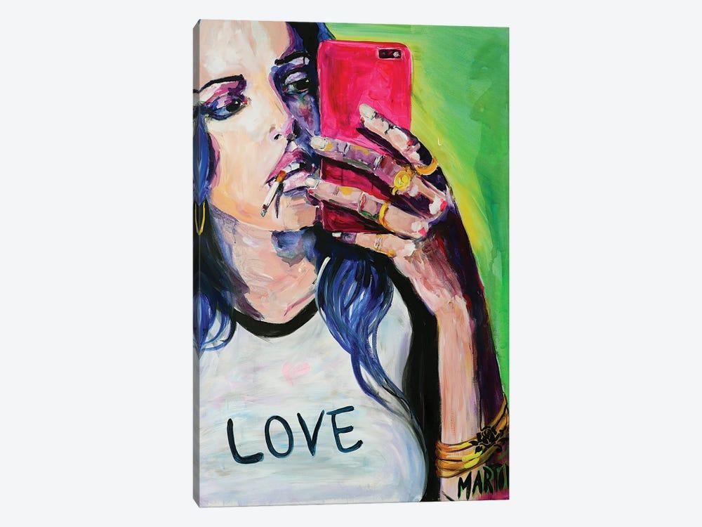 Selfie Queen by Peter Martin 1-piece Art Print