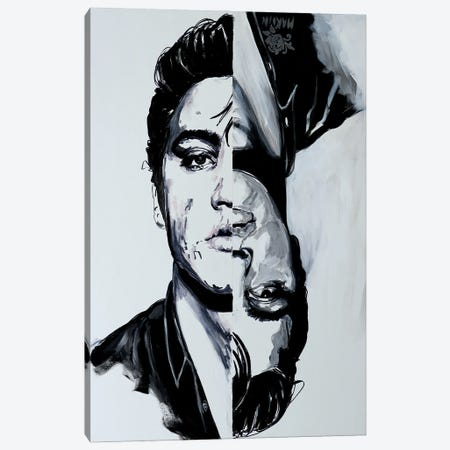Elvis Canvas Print #PEM47} by Peter Martin Art Print