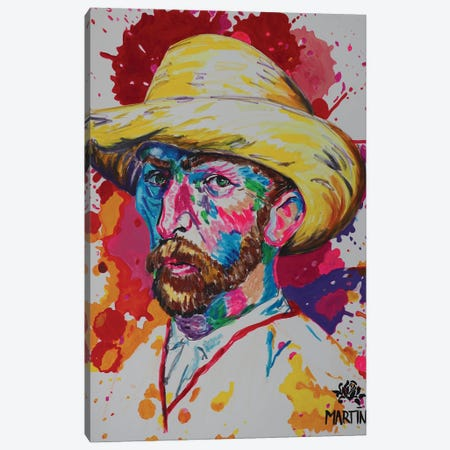 Vincent Van Gogh Canvas Print #PEM49} by Peter Martin Canvas Art