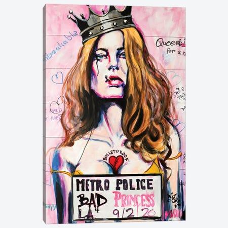 Bad Princess Canvas Print #PEM4} by Peter Martin Art Print