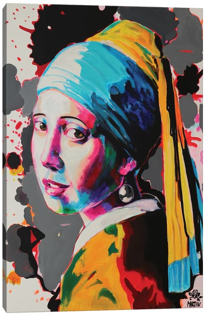 Girl With Pearl Earring Canvas Art Print