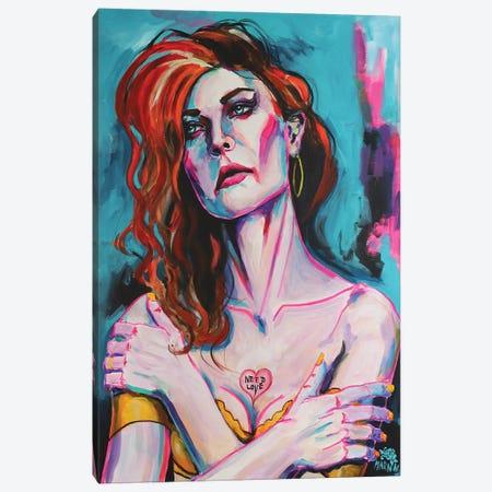 Need Love Canvas Print #PEM58} by Peter Martin Art Print