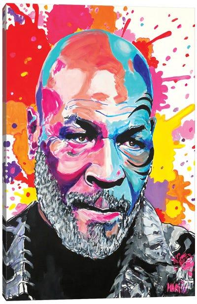 Mike Tyson Pop Art Canvas Art Print