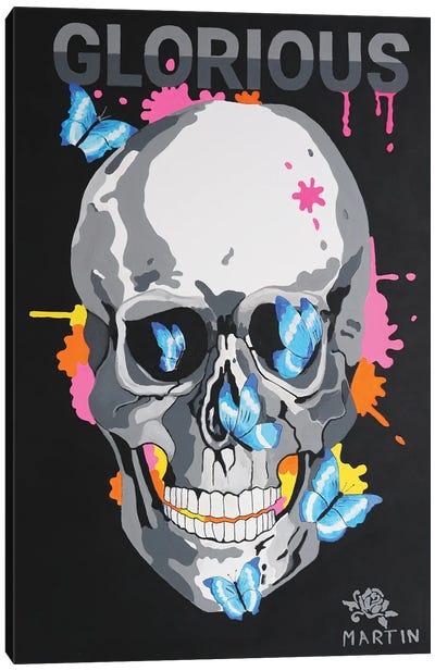 Glorious Skull Canvas Art Print