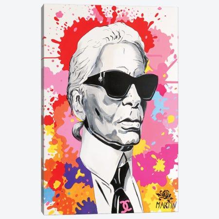 Karl Lagerfeld Canvas Print #PEM76} by Peter Martin Canvas Art