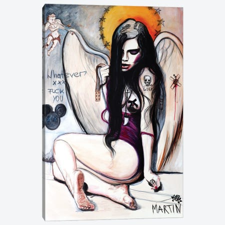 Broken Wings Canvas Print #PEM8} by Peter Martin Canvas Artwork