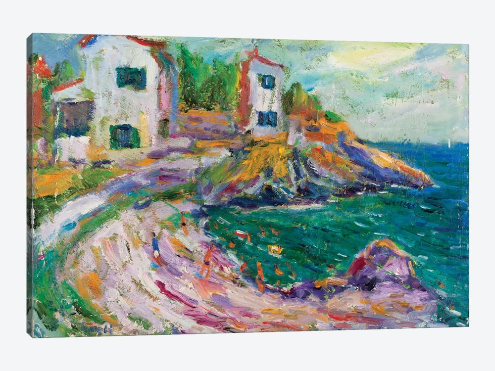 Beach Of Cadaques, Spain by Peris Carbonell 1-piece Art Print