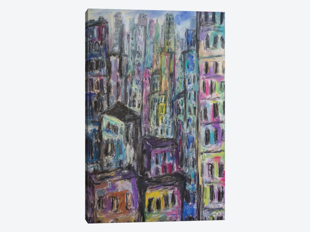 Manhattan by Peris Carbonell 1-piece Canvas Wall Art