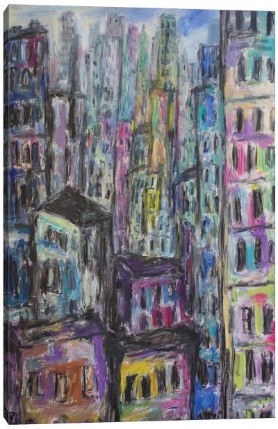 Manhattan Canvas Art Print