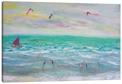 Cumbuco Beach, Brazil Canvas Art Print