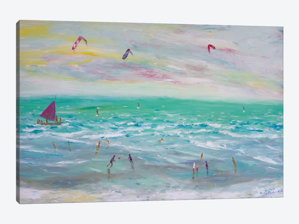 Cumbuco Beach, Brazil by Peris Carbonell 1-piece Canvas Art Print