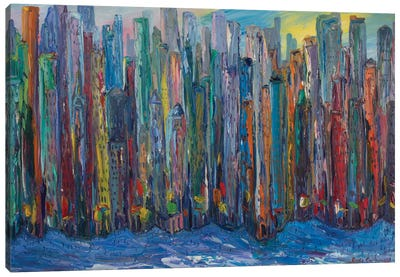 New York City Canvas Print #PER32