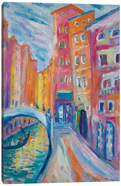 Rio di Palazzo, Venice, Canvas Art Print