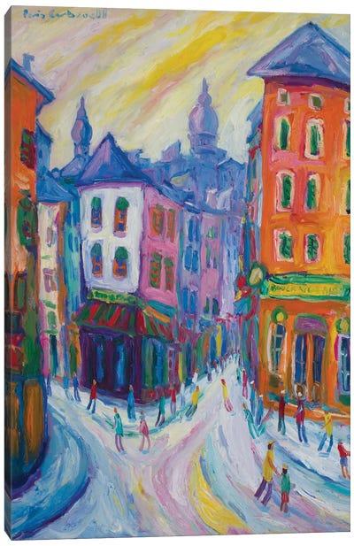 Montmartre, Paris Canvas Print #PER36