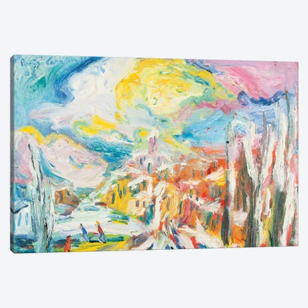 The Sun After The Snow Canvas Print #PER37} by Peris Carbonell Canvas Print