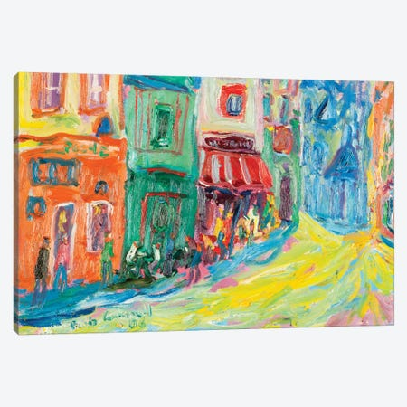 Poche, Paris Canvas Print #PER38} by Peris Carbonell Canvas Wall Art
