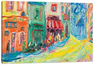 Poche, Paris Canvas Art Print
