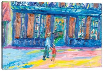 Le Procope, Paris Canvas Art Print