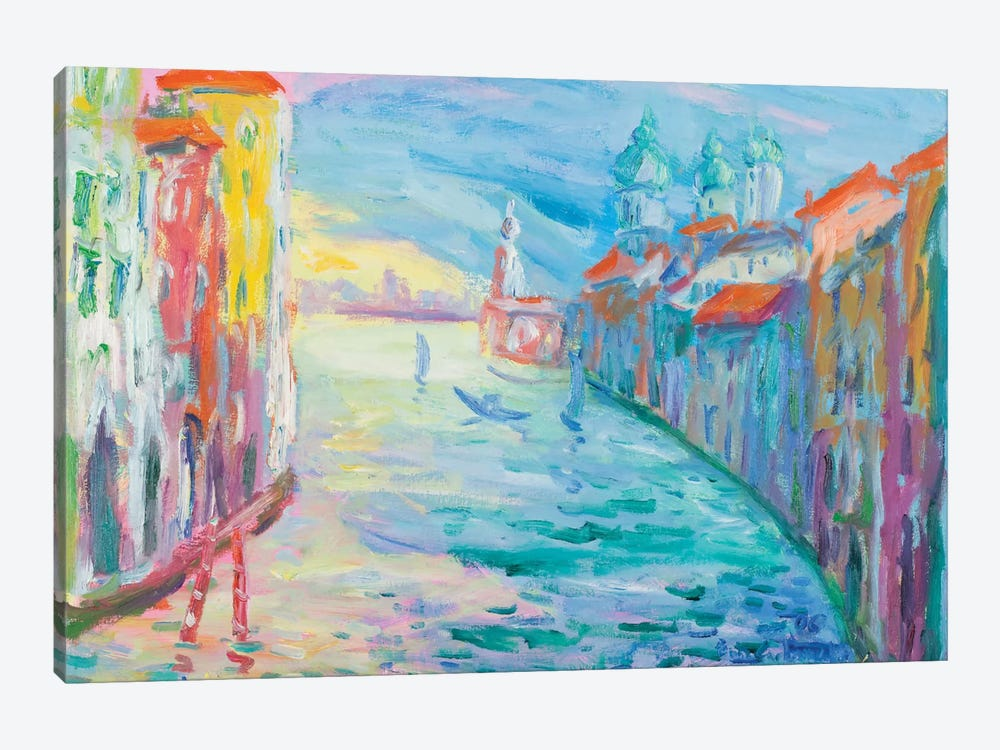 The Grand Canal, Venice by Peris Carbonell 1-piece Canvas Art