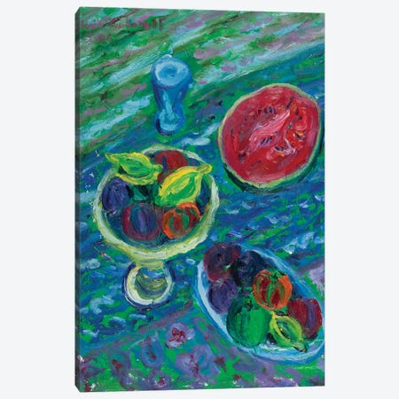 Composition With Cup Canvas Print #PER49} by Peris Carbonell Art Print