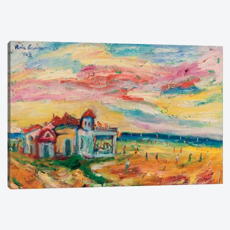 The Picnic Canvas Print #PER50} by Peris Carbonell Canvas Artwork