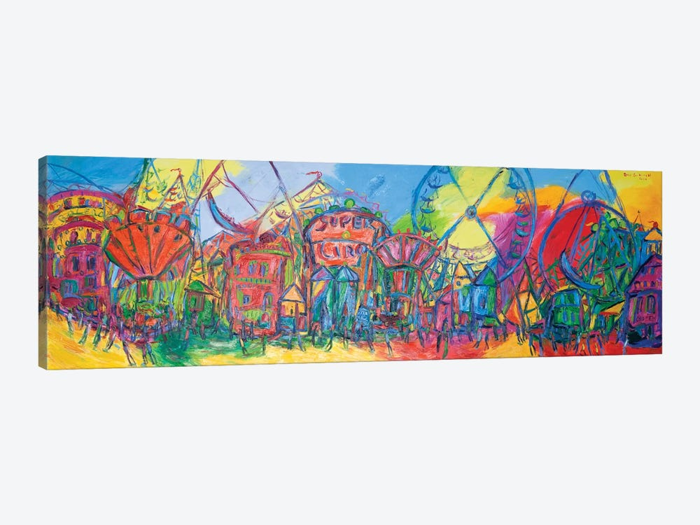 The Fair Of Valencia, Spain by Peris Carbonell 1-piece Canvas Artwork