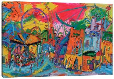 Fair Wheel Canvas Art Print