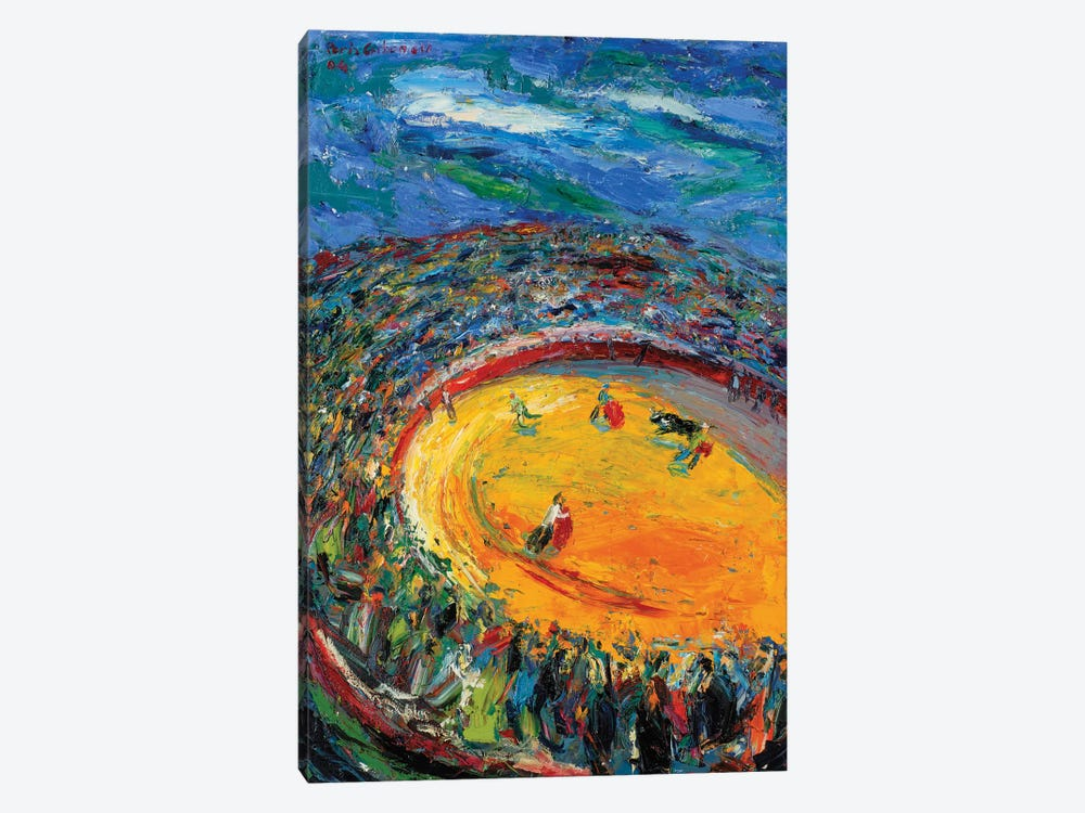 Afternoon In A Bullfight by Peris Carbonell 1-piece Canvas Wall Art