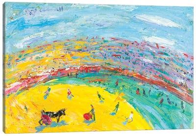 El Cite In A Bullfight Canvas Print #PER60