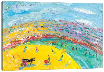 El Cite In A Bullfight Canvas Art Print