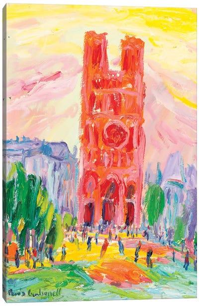 Notre Dame, Paris Canvas Print #PER65