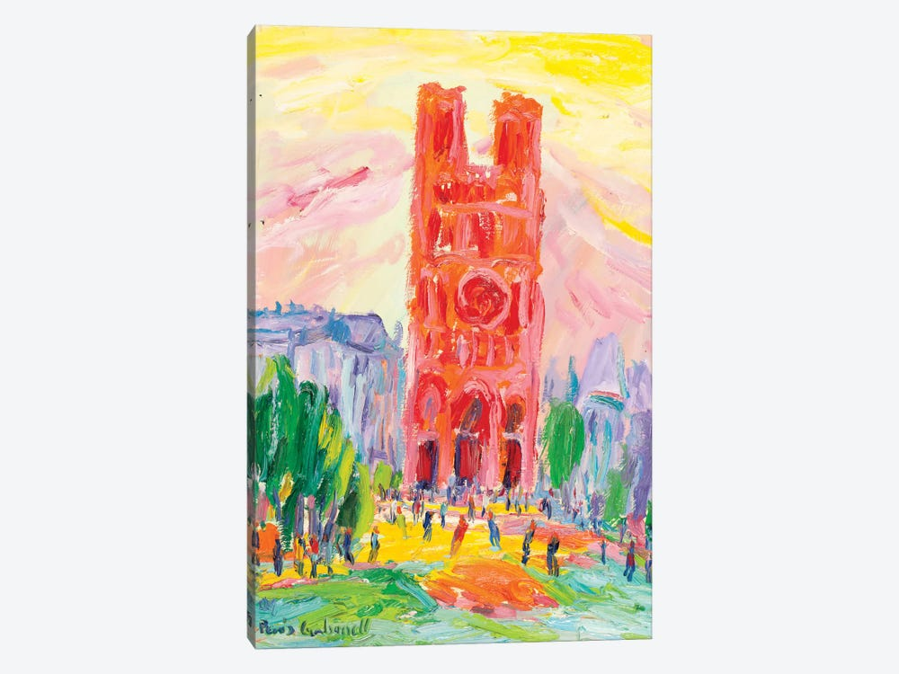 Notre Dame, Paris by Peris Carbonell 1-piece Canvas Art Print