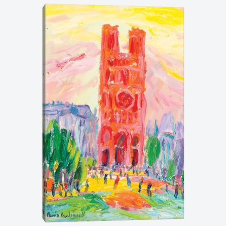Notre Dame, Paris Canvas Print #PER65} by Peris Carbonell Canvas Artwork