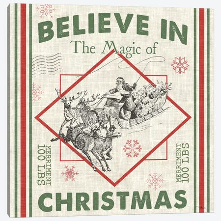Believe In The Magic I Canvas Print #PES10} by Pela Studio Art Print
