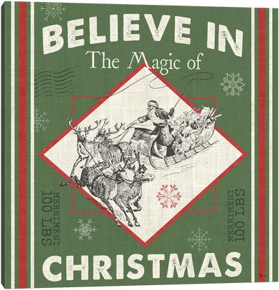 Believe In The Magic II Canvas Art Print