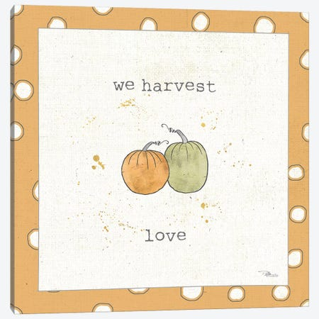 Harvest Cuties I Step 02C Canvas Print #PES19} by Pela Studio Art Print