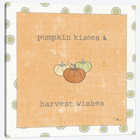 Harvest Cuties III Orange Canvas Print #PES21} by Pela Studio Canvas Wall Art