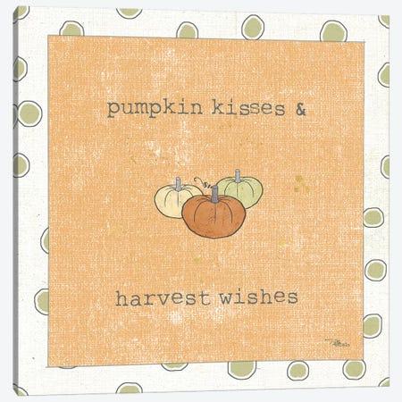 Harvest Cuties III Orange Canvas Print #PES21} by Pela Studio Canvas Wall Art