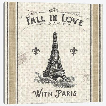 Paris Farmhouse II 3-Piece Canvas #PES23} by Pela Studio Canvas Wall Art