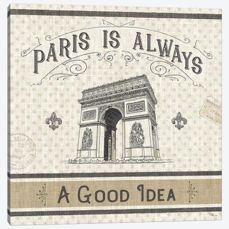 Paris Farmhouse IV Canvas Print #PES25} by Pela Studio Art Print